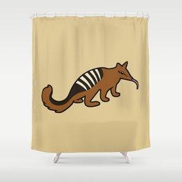 Cute Numbat Shower Curtain