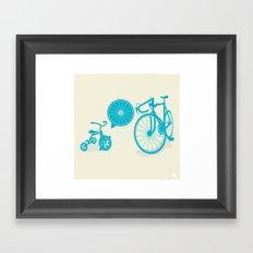 SPOKE Framed Art Print