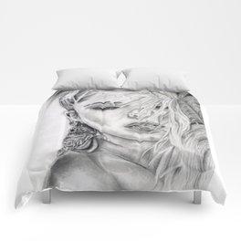 Feather Girl Aloud Comforters