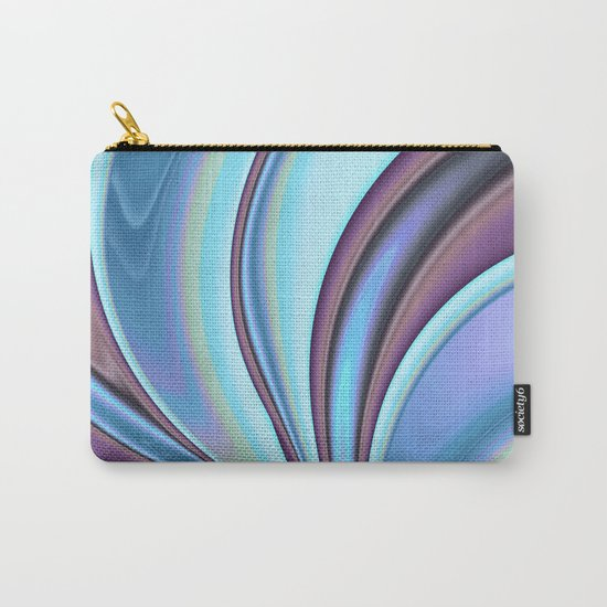 Abstract Fractal Colorways 02PrBl Carry-All Pouch