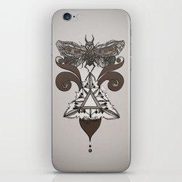 Moth Mediator iPhone Skin