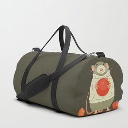 Mouse with a Christmas ball II Duffle Bag