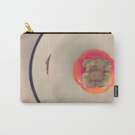 Persimmon in a Bowl Carry-All Pouch