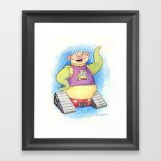 Aren't You Jealous? Framed Art Print