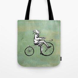 Rabbit's Bone Shaker Ride Tote Bag