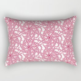 Candy cane flower pattern 7 Rectangular Pillow