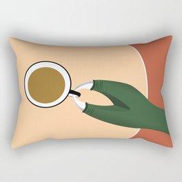Tea Rex Rectangular Pillow