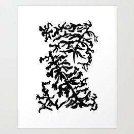 Black Coral Art Print
