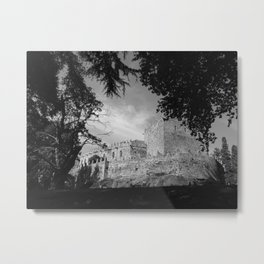 Medieval Shadows Metal Print
