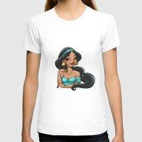 jasmine T-shirts featuring Jasmine by Genevieve Kay