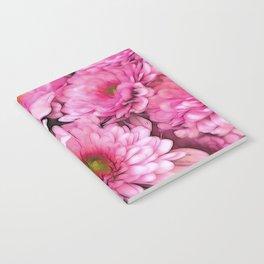 chrysanthemums in the garden Notebook