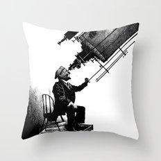 Who's Looking at Who? Throw Pillow