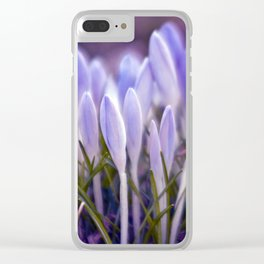 Ultra Violet Sound Clear iPhone Case