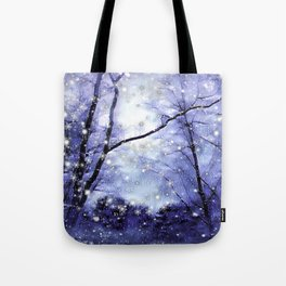 The Magic Of Winter Evening Tote Bag