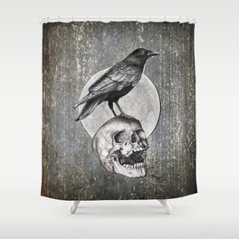 Together Forever - Circle Shower Curtain