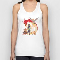 mulan Tank Tops featuring Team Mulan by Citron Vert