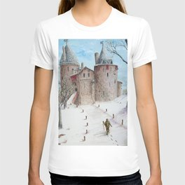 Castell Coch (Red Castle) - Winter T-shirt