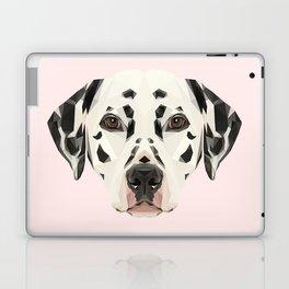 Dalmatian // Pastel Pink Laptop & iPad Skin