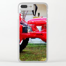 McCormick Farmall C Clear iPhone Case