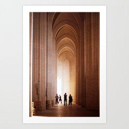 Verticality Art Print