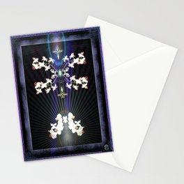 THE POWER OF LIGHT...IS THE ESSENCE OF LIFE Stationery Cards