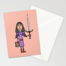 Angela Pendragon at 19 Years of Age Stationery Cards