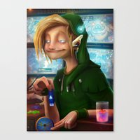 hyrule Canvas Prints featuring HYRULE CORP. by zero-scarecrow13