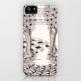 Forest of Fingers iPhone Case