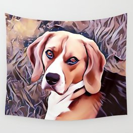The Beagle Wall Tapestry