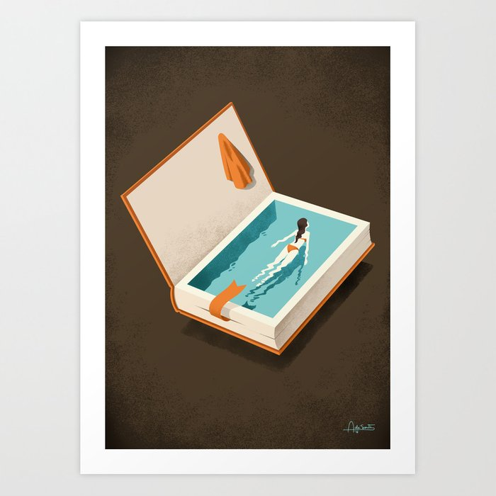 Floating Art Print
