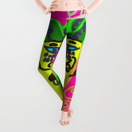 dancing pineapple Leggings