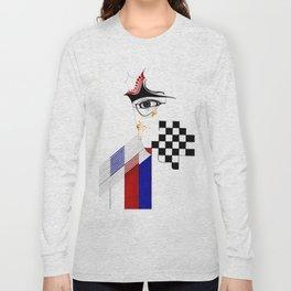 CHECKERS EYE Long Sleeve T-shirt