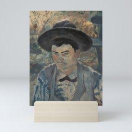 Henri de Toulouse-Lautrec - Der junge Routy auf Schloss Céleyran Mini Art Print