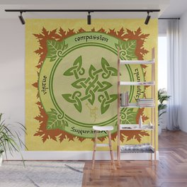 Circle of the Enlightened - Ivy Wall Mural