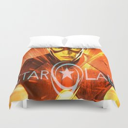 The Star Of Star Labs Duvet Cover