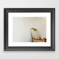 Chickenbox Framed Art Print