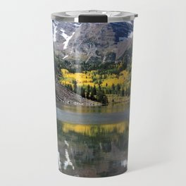 Maroon Bells in Aspen, Colorado Travel Mug