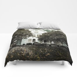 Haunted Hauntings Series - House Number 3 Comforters