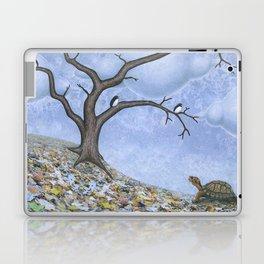 eastern box turtle in autumn Laptop & iPad Skin