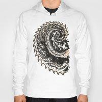 fibonacci Hoodies featuring Fibonacci Swirl  by Vixxen