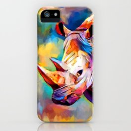 Rhinoceros iPhone Case