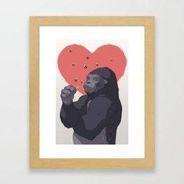 Brutus Love Framed Art Print