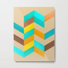 Abstract and minimalist lozenges Metal Print