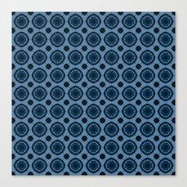 Barque bleue Canvas Print