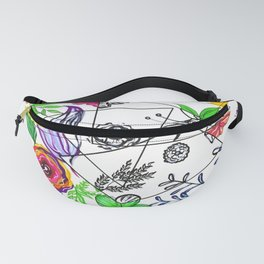 Bet You Guessed I Like Flowers Fanny Pack