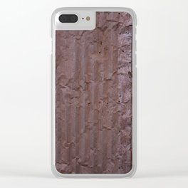 Corrugated Wall Clear iPhone Case
