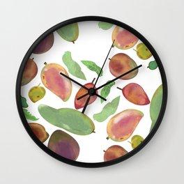 Mango Madness Wall Clock