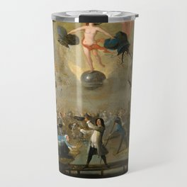 Allegory of Fortune by Balthazar Nebot, 1730 Travel Mug