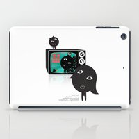 tv iPad Cases featuring TV by BUBUBABA