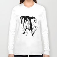 abyss Long Sleeve T-shirts featuring Abyss by Corinne Fallone